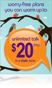 unlimited local talk $20/mo