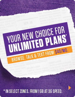 YOUR NEW CHOICE FOR UNLIMITED PLANS