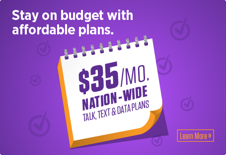 1 GB of data for only $35/month! Learn more