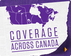 COVERAGE ACROSS CANADA