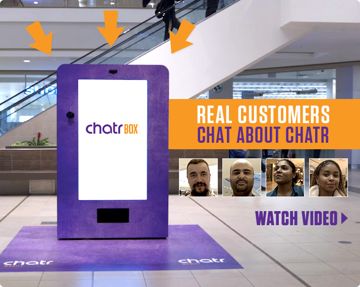 Real customers chat about chatr. Watch video