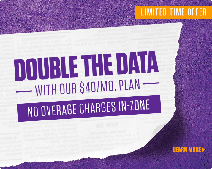 now add-on upto 1GB of data on select plan