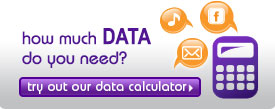 try out our data calculator